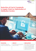 Reduction of Cost & Complexity in Supply Chain by Optimization of Distribution Centers