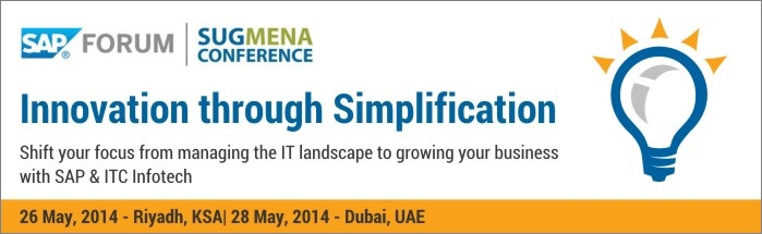 SAP Forum and SUGMENA Conference, Riyadh :