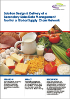 Solution Design & Delivery of a Secondary Sales Data Management Tool for a Global Supply Chain Network
