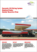 Dynamic Oil Pricing System Enabled Faster Market Reaction Time