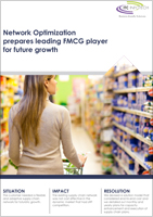 Network Optimization prepares leading FMCG player for future growth