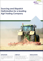 Sourcing and Dispatch Optimization for a leading Agri Trading Company