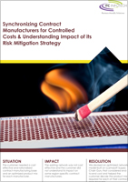 Synchronizing Contract Manufacturers for Controlled Costs & Understanding Impact of its Risk Mitigation Strategy