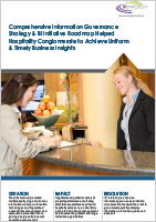 Comprehensive Information Governance Strategy & BI Initiative Roadmap Helps Hospitality Conglomerate Achieve Uniform & Timely Business Insights