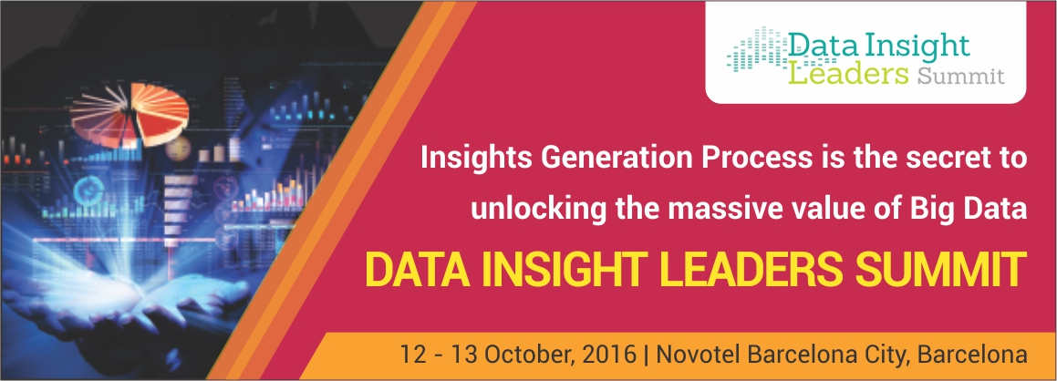 Data Insight Leaders' Summit, 2016