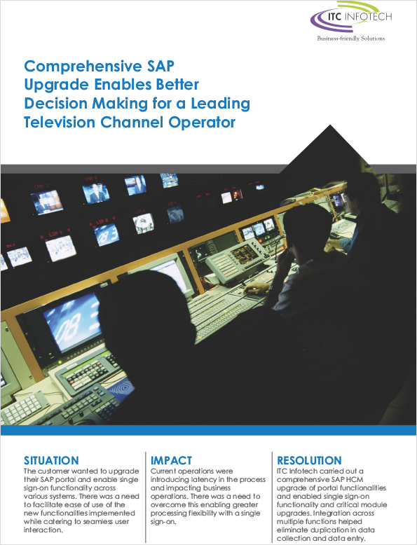 Comprehensive SAP Upgrade Enables Better Decision Making for a Leading Television Channel Operator