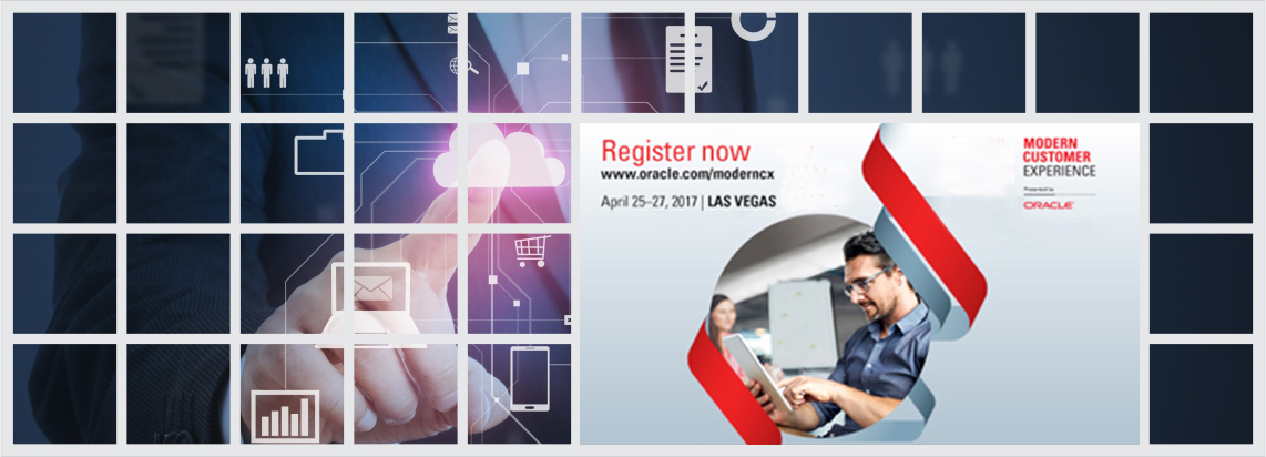 Transform your digital journey. Meet ITC Infotech experts at Oracle's Modern Customer Experience!