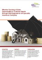 Insurance Company CRM Upgrade Case Study