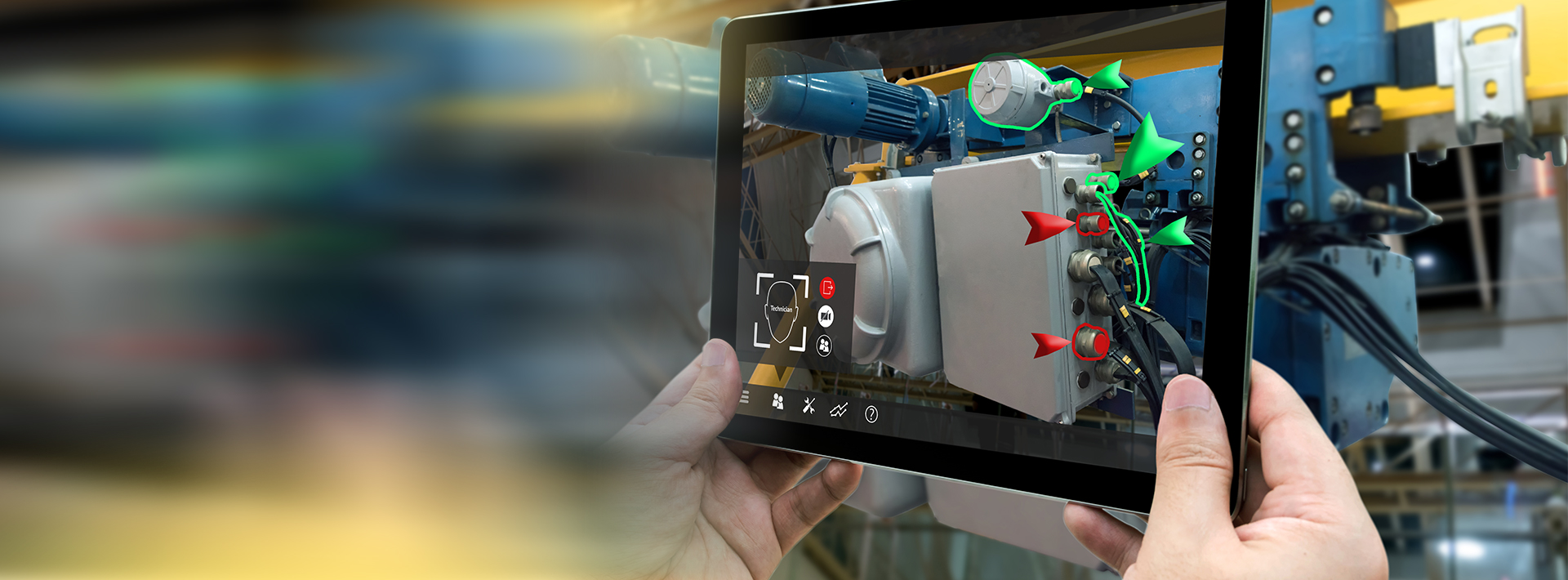 Augmented Reality for Connected Service